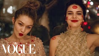 Kendall Jenner and Gigi Hadid's Sleepover Party | Vogue