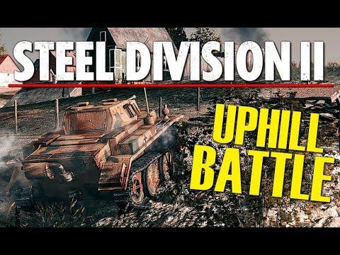 UPHILL BATTLE! Steel Division 2 BETA Conquest Gameplay (Novka, 3v3)