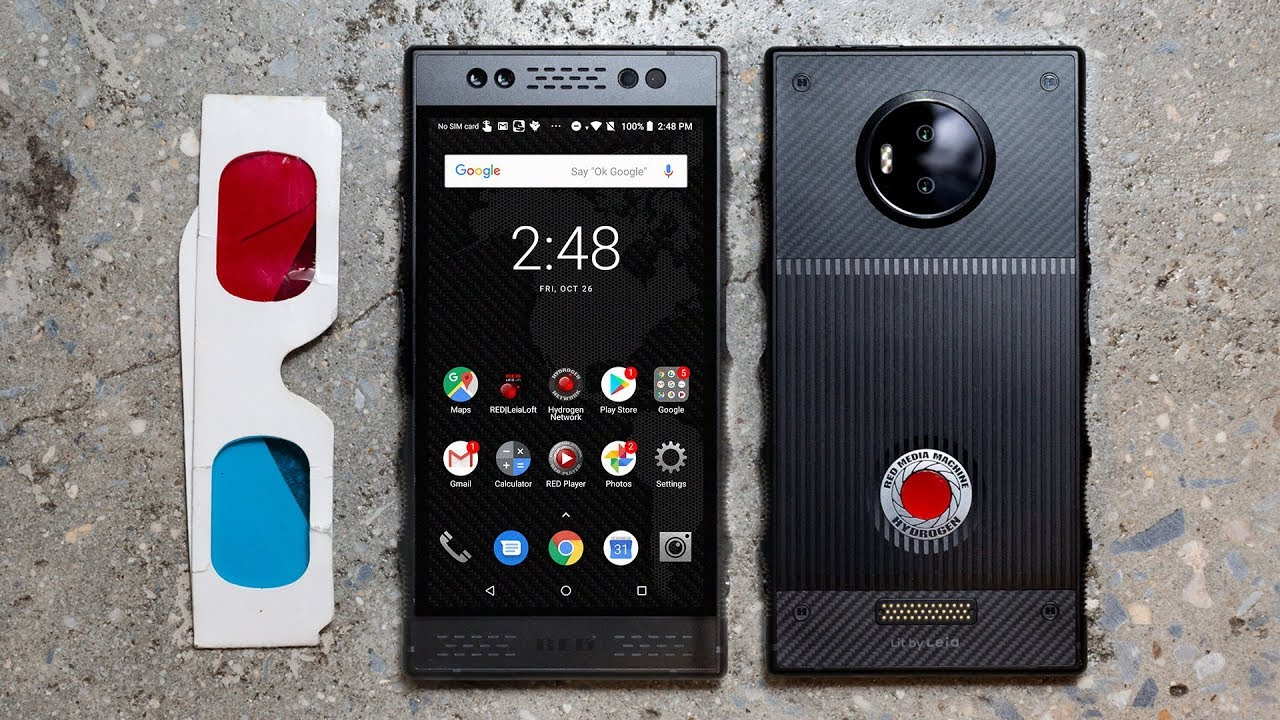 RED Hydrogen One review: a $1,300 mess of a phone thumbnail