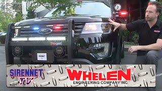 The 2016 Whelen Ford Interceptor SUV Demo Vehicle