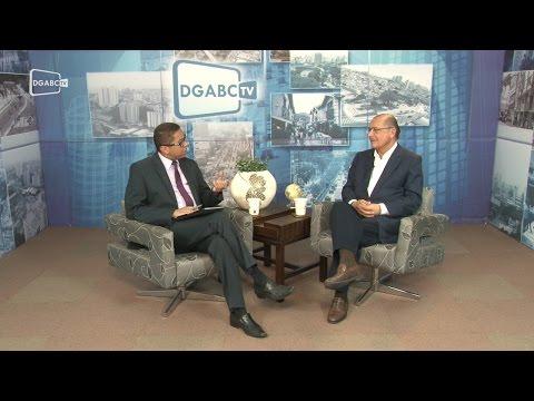 EXCLUSIVO: Alckmin marca presença no DGABC TV - Diário do Grande ABC