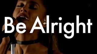 Ariana Grande - Be Alright (SMAP X SMAP 2016)