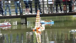 preview picture of video 'Kaliningrad 2013 - mistrovství světa Naviga lodních maket NS: Manévr družstev F6'