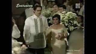 Matet De Leon Wedding Part 1 With Nora Aunor