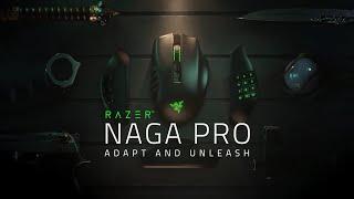 Razer Naga Pro | Adapt and Unleash