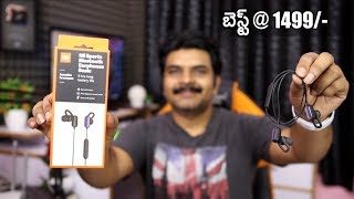 Mi Sports Bluetooth Earphones Basic Review ll In Telugu ll