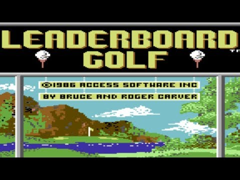 C64 - Leaderboard Golf Course #1 Remastered (TGC2019)