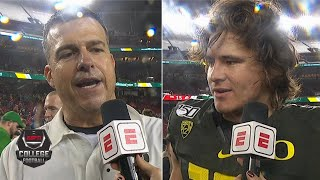 Oregon Ducks cannot wait for Rose Bowl after winning Pac-12 championship | College Football on ESPN