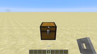 [Minecraft]:how to lock your chest and make a key to open it (so eazy)