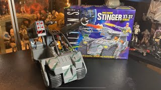 Stinger XT-37 ALIENS Space Marines Jeep Vehicle by Kenner. Unboxing and Spotlight Review