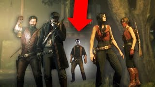 HIDE & SEEK WITH MICHAEL MYERS! *SCARY!* | Red Dead Redemption 2 Online