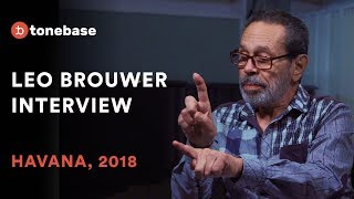 Leo Brouwer On His Life With Music & The Classical Guitar [FULL INTERVIEW]