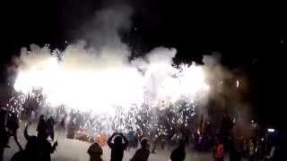 preview picture of video 'Correfoc Andratx Januar 2015'