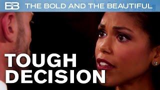 The Bold And The Beautiful / Rick Tells Maya His ULTIMATUM!