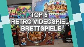 TOP 5 Brettspiele, die an Retro Videospiele erinnern