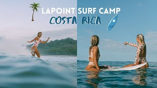 Surfing in Santa Teresa, Costa Rica with Lapoint Surf Camp