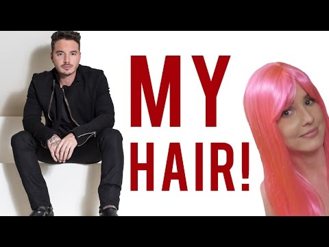 J BALVIN DYED MY HAIR PINK! | Amanda Cerny!