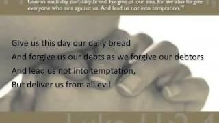 The Lord's Prayer ~ Anne Murray ~ lyric video