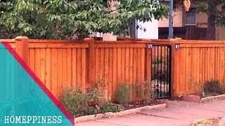 (NEW DESIGN 2017) 30+ Cheap Wood Fence Ideas