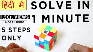 How To Solve 3*3 Rubik