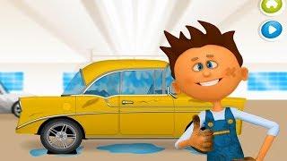 Механик Макс. Будем чинить и обновлять автомобиль. Мультики для детей