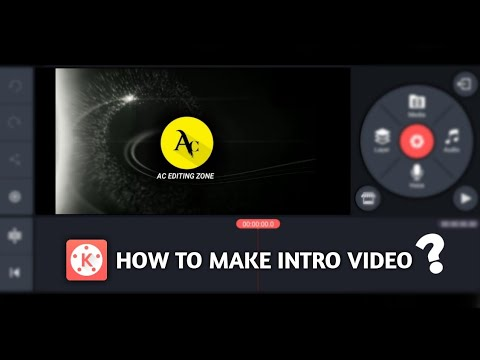 How to Make Intro for YouTube Videos in Kinemaster | Kinemaster Tutorial