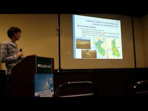 Evaluación del recurso eólico a microescala - Matteo Ranaboldo