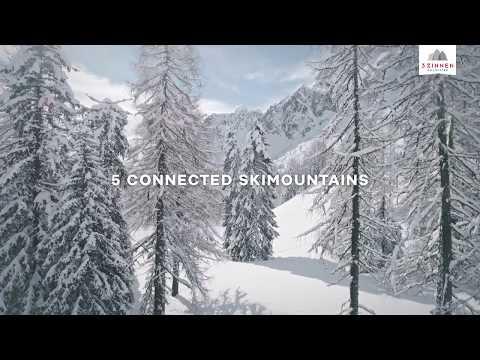 3 Zinnen Dolomiten: Pure Nature. Pure Skiing.