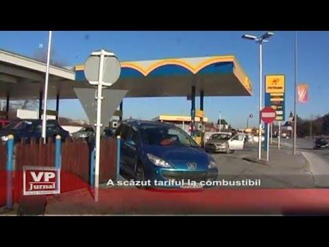 A scazut tariful la combustibil