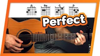 Perfect Guitar Tutorial (Ed Sheeran) Easy Chords Guitar Lesson