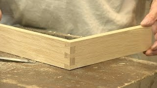 How to make a Dovetail Joint - The Three Joints - | Paul Sellers | Kholo.pk