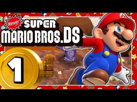 NEWER SUPER MARIO BROS. DS Part 1: Das Newer Team rockt den DS!