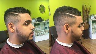 Mens Hairstyle 2016 | Hard Part Haircut For Short Mixed Hair | (Hair Update) | TheBrandonLeeCook