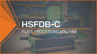 Plate Processing Machine | HSFDB-C (Heavy Bevel Plate Processing)