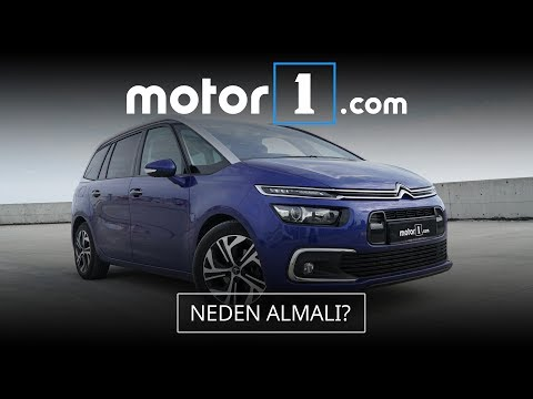 Citroen C4 Grand Picasso 1.6 BlueHDI İncelemesi