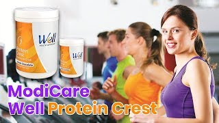 Do you know #ModiCare Well #Protein Crest - Soy & Whey Protein Nutritional Drink