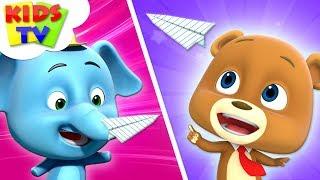 Paper Plane Challenge   Loconuts   Kindergarten Learning Videos For  Babies    Kids Songs