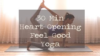 30 Min Heart Opening Feel Good Yoga by Yoga by Candace