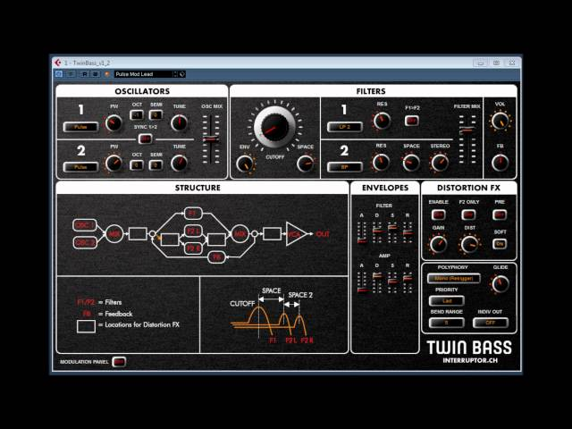 TWIN BASS V1.2 BY INTERRUPTER