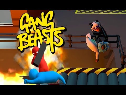 GANG BEASTS ONLINE - Help Me Morty!!! - The8Bittheater - Video