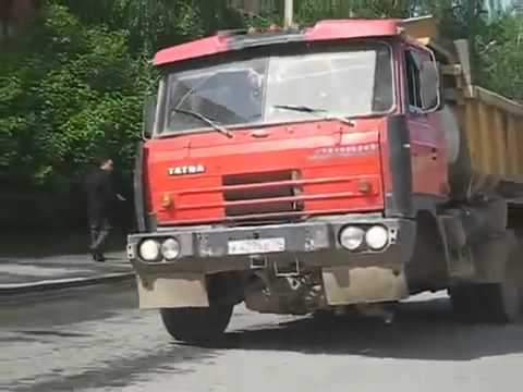 How Can This Truck Drive With A Wheel Missing?