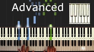 Scott Joplin - The Entertainer - Piano Tutorial Easy - How To Play (synthesia)