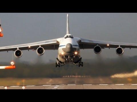 تصوير رائع لإقلاع طائرة AN-124