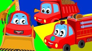 Truck Song   Little Red Car Shows For Toddlers   Cartoon  Video For Children by Kids Channel