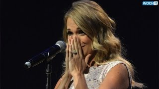 Pregnant Carrie Underwood Cries--Find Out Why!