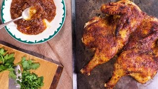 Sunny Anderson's Sweet-Glazed Butterflied Chicken | Kholo.pk
