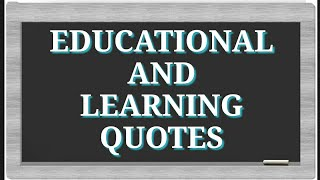 EDUCATION, KNOWLEDGE, LEARNING QUOTES 3 Top 25