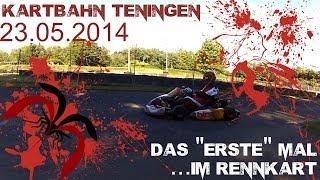 preview picture of video 'Rennkart - Teningen - Das erste Mal.....'