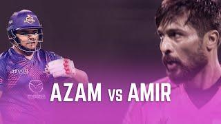 Azam Khan vs Mohammad Amir I The BIG OVER moment I Best moments of the Season 4 I Abu Dhabi T10