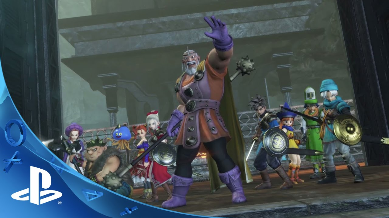 DRAGON QUEST HEROES Launches on PS4 Today